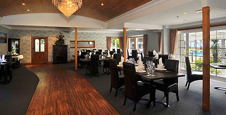 Fine Dining at our Rotorua Restaurant